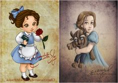 Every child loves watching Disney movies, but little girls especially love the Disney's princesses. Cute Disney, Baby Disney, Disney Art, Disney Pixar, Disney Movie Characters, Disney Movies To Watch, Disney Princess Toddler, Disney Princess Drawings, Disney Princesses