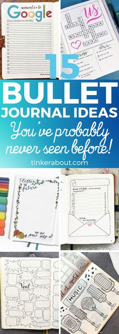 These unique bullet journal ideas are here to inspire you! Click through to find 15 bullet journal pages that are original & clever! Incorporate them into your bullet journal and have fun! Bullet journal ideas, bullet journal inspiration, bullet journal layout - #bujo #bujoinspire #bulletjournal #bulletjournaling #bulletjournaljunkies