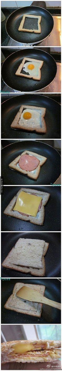 Das Toast Versteck.