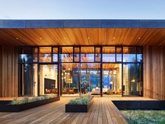 This striking home is a modern art piece designed by Carney Logan Burke Architects, set on the banks of the Snake River in Jackson, Wyoming. Steel Siding, Cedar Siding, Exterior Siding, Outdoor Spaces, Outdoor Living, Glass Showcase, Teton Mountains, Western Red Cedar, Light Architecture