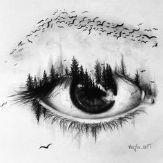 Super creative eye drawing by creative drawing ideas, creative artwork, creative sketches Realistic Eye Drawing, Drawing Eyes, Angel Drawing, Eye Sketch, Drawing Sketches, Bird Sketch, Sketch Art, Eye Pencil Sketch, Pencil Art