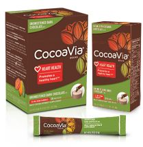 I'm learning all about CocoaVia Unsweetened Dark Chocolate at @Influenster!