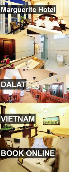 Marguerite Hotel in Dalat, Vietnam. For more information, photos, reviews and best prices please follow the link. #Vietnam #Dalat #travel #vacation #hotel