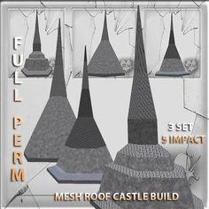 Mesh Roof Caste Build 3 SET Full perm