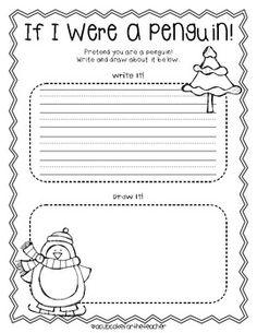 Penguin Worksheets Kindergarten - The Best Penguin Of 2018