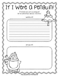 1000+ images about January worksheets on Pinterest | Penguins ...
