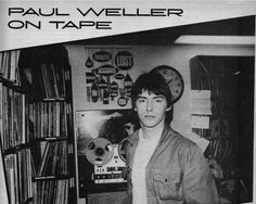 Weller on tape. Tape, Musica, Band, Ice