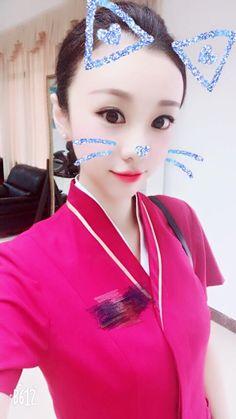 【China】 China Southern Airlines cabin crew / 中国南方航空 客室乗務員 【中国】 China Southern Airlines, Airline Cabin Crew, China China, Flight Attendant