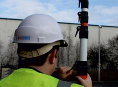 The system itself is comprised of two fibreglass telescopic poles which reach any size up to 6 metres when extended.