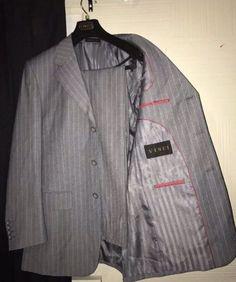 Vinci Size 38R 2 PC Lined Pant Blazer Jacket Suit Combo Set    eBay