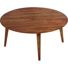 Artfully handcrafted from acacia wood, this streamlined coffee table is perfect for displaying glossy art books or resting a tray of canapes at your next soi...