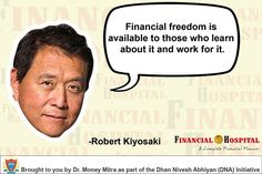 Financial freedom is available to those who learn about it and work for it.