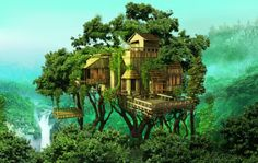 Tropical Rainforest Homes Balcony this new home is