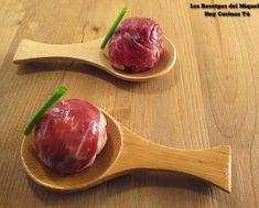 Hoy Cocinas Tú: Bombón salado de jamón, queso, nueces y dátiles