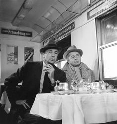 Gary Cooper et Billy Wilder