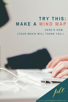 You are good at making lists, but this is a new strategy that I think will REALLY break things open for you.   NEW POST: Mind mapping :: a list-making strategy you should be using http://penelopeloveslists.com/organize/mind-mapping-list-making-strategy/?utm_campaign=coschedule&utm_source=pinterest&utm_medium=Penelope%20Loves%20Lists&utm_content=Mind%20mapping%20%3A%3A%20a%20list-making%20strategy%20you%20should%20be%20using
