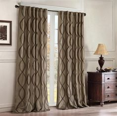 Found it at Wayfair - JLA Home Serendipity Rod Pocket Window Curtain Single Panel Window Panels, Window Coverings, Window Treatments, Window Curtains, Bedroom Drapes, Neutral Curtains, Thing 1