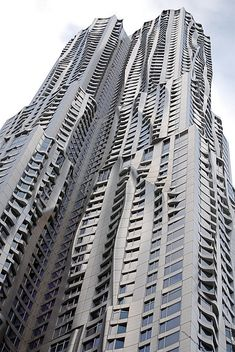 Frank Gehry Designed Residential Tower, 8 Spruce Street, New York City.