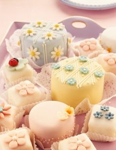 Baby Cakes and Petit-Fours