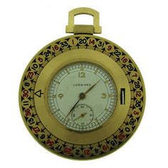 For Sale on - Have Las Vegas in your pocket! - stunning pocket watch made as a roulette. The outer circle with numbers is turning! You can gamble anywhere anytime! Gold Pocket Watch, Pocket Watch Antique, Gold Watch, Big Watches, Cool Watches, Watches For Men, Pocket Watches, Vintage Yellow, Watch Brands