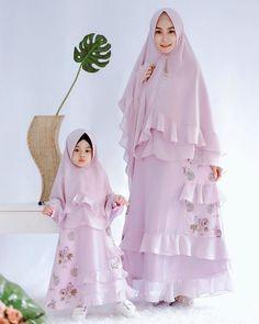 Model Gamis Couple Ibu Dan Anak Brokat Model Pakaian Gadis Gaun Gadis Kecil Gaun Bayi Perempuan