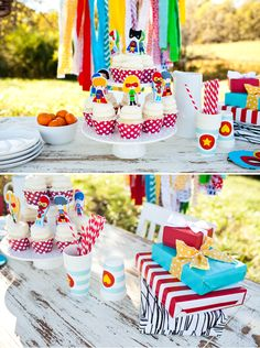 Creative Super Kids Party Inspiration + Photos! TONS of TUTORIALS!