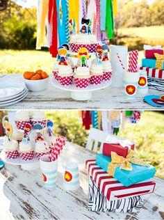 Creative Super Kids Party Inspiration + Photos! TONS of TUTORIALS!