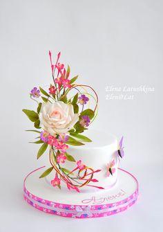 Елена Латушкина - Мои тортики (мастика) | OK