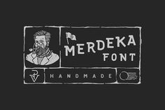 Merdeka Font by WNPRH Collective on @creativemarket #partnerlink