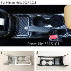 Car ABS Chrome/Carbon Fiber Middle Front Shift Stall Paddles Cup Frame Trim Hoods For Nissan Kicks 2017 2018 Price history. Paddles, Interior Accessories, Carbon Fiber, Nissan, Hoods, Kicks, Chrome, Abs, Cowls