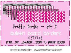 Bulletin Board Borders
