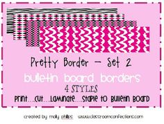 Bulletin Board Borders