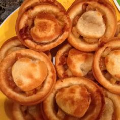 Mini Apple Pies  I used the http://www.littlebitfunky.com/2011/10/what-i-made-for-monday.html recipe and they are so yummy. My 10 year old did most of the work and we used the baby cakes cupcake maker to bake them