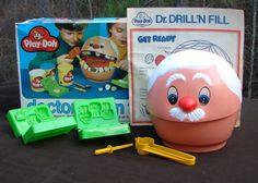 PLAY DOH Doctor Drill 'N Fill by Kenner (1978)