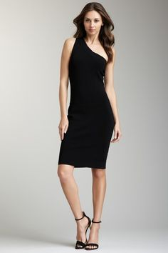 Andrew Marc - One Shoulder Dress on HauteLook