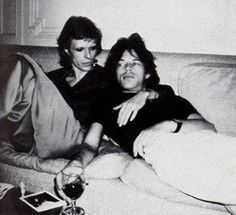 Bowie <3 Mick