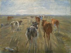 File:Theodor Philipsen - Long Shadows. Cattle on the Island of Saltholm