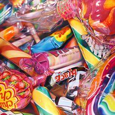 pick and mix - Sweet Dreams by Sarah Graham Sarah Graham Artist, Juan Sanchez Cotan, Memento, Candy Art, Eye Candy, A Level Art, Pick And Mix, Realistic Paintings, Gcse Art