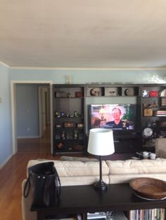 Living Room Entertainment Center 11 Wall Black Brown Furniture
