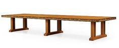 1. CARL MALMSTEN, A Carl Malmsten Swedish Grace table, Åtvidaberg, Sweden circa 1934.
