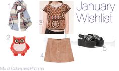 Mix of Colors and Patterns: Wishlist: Janeiro