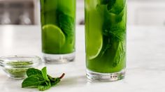 Matcha Tè Freddo con Menta e Lime