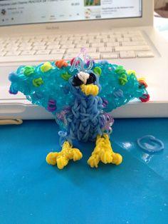 Rainbow loom peacock Rainbow Loom Animals, Peacock, Dinosaur Stuffed Animal, Toys, Projects, Activity Toys, Log Projects, Blue Prints, Clearance Toys