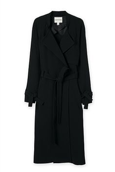 Country Road  TIE CUFF TRENCH   $349.00