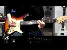 Andy's Lab - Daily Blues Licks #85 - Guitar Lesson - YouTube