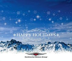 Happy holidays from the Continental Motors team! We hope you enjoy and fly safe! Where are you traveling this holiday season??  #HappyHolidays #AVLovers #Travel #ContinentalMotors