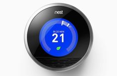 3-Nest-Thermostat3. Nest Thermostat  Remotely manage the temperature of your home by installing this digital thermostat control. It communicates with your smartphone so that you can schedule temperature presets and check your energy savings while on the go. You'll never return to a chilly or overheated house again! Buy it from Nest for $249.