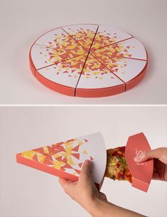 packaging slicetoss designs created gourmet genius pizza slice most food toss ever the of Of The Most Genius Food Packaging Designs Ever Created Toss Gourmet Pizza By The SliceToss GourYou can find Packaging design food and more on our website Bakery Packaging, Cool Packaging, Food Packaging Design, Brand Packaging, Packaging Nets, Fashion Packaging, Food Branding, Sushi Design, Food Design