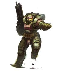 Heavy Trooper by kimplate on DeviantArt