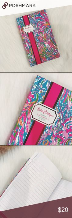 🎄SALE🎄Lilly Pulitzer Journal Scuba to Cuba Hardcover journal with lined sheets, small/medium size, 5 1/4 x 8 3/8. Brand new  ✅Check my other Kate Spade and Lilly Pulitzer items, great for Christmas Gifts. Get them while they last!           🎄10% off bundle of 3 items or more!🎄                             •NO TRADING                             •FINAL PRICE                             •smoke free                             •fast shipper Lilly Pulitzer Accessories